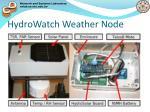hydrowatch weather node