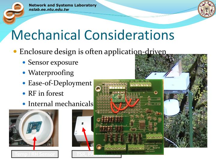 Mechanical Considerations
