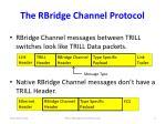 the rbridge channel protocol1