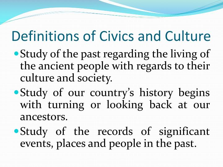 civics ang culture anak Go to the civics article culture is one of the main statistics in civilization vi its role has been greatly enhanced since civilization v: besides fueling border expansion at the city level, it is now used to research developments in the brand new civics tree, similar to how science is used to.