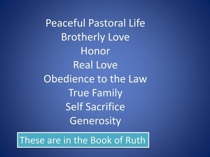 Peaceful Pastoral Life