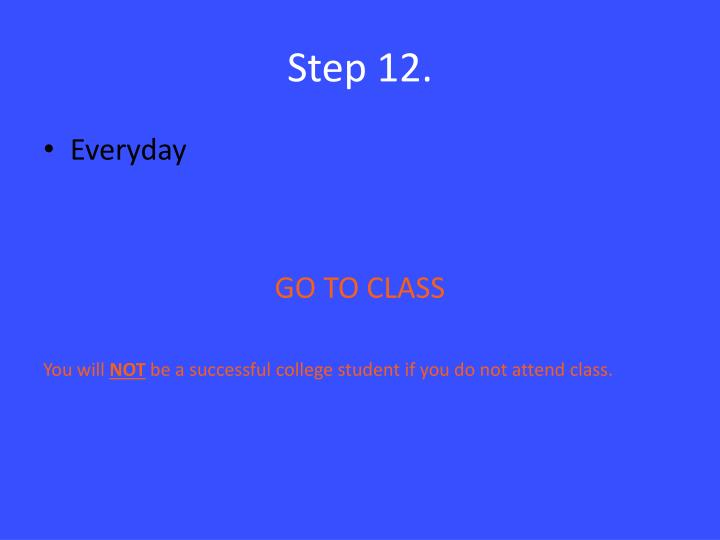 Step 12.