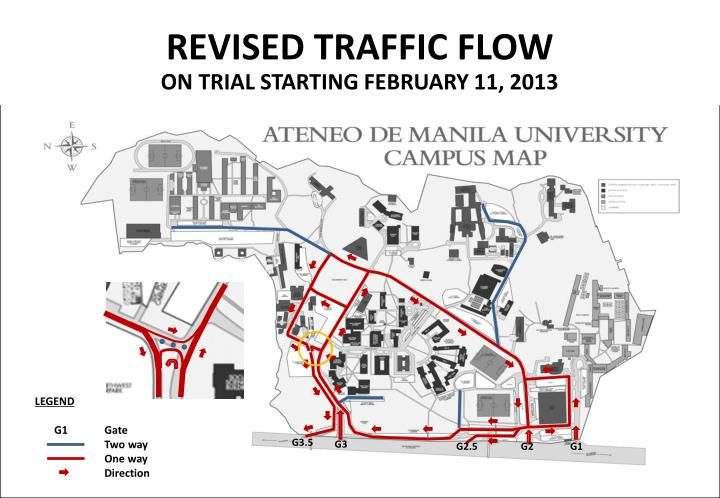 REVISED TRAFFIC FLOW