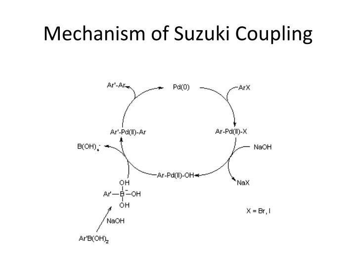 Mechanism of Suzuki Coupling