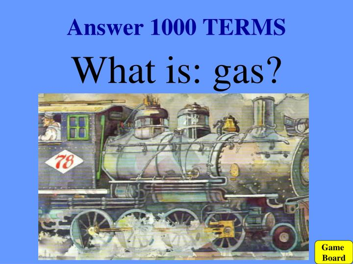 Answer 1000 TERMS