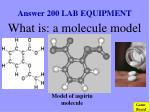 answer 200 lab equipment