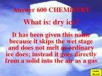 answer 600 chemistry
