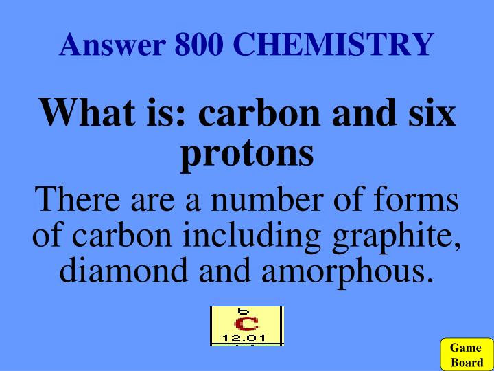 Answer 800 CHEMISTRY