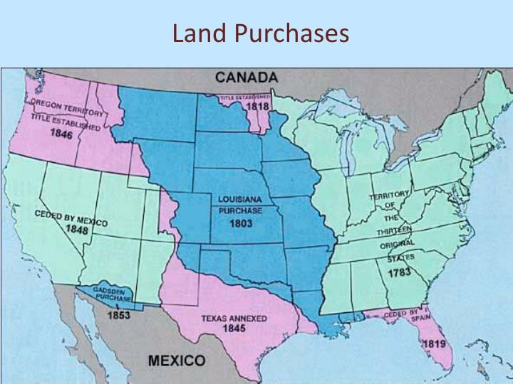 Land Purchases