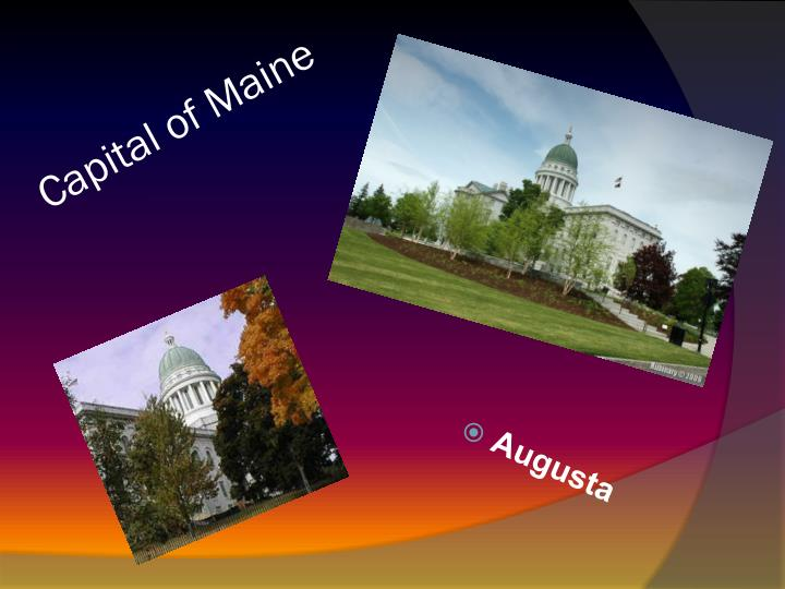 Capital of Maine