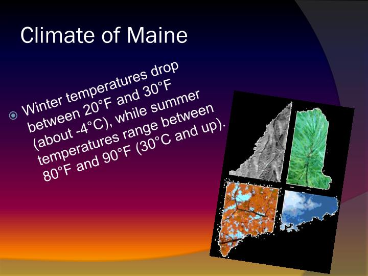 Climate of Maine