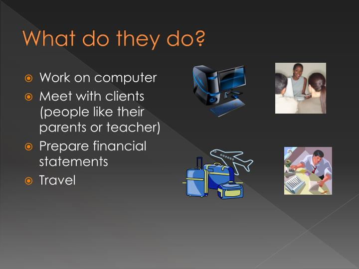 PPT - Accounting Career Presentation PowerPoint ...
