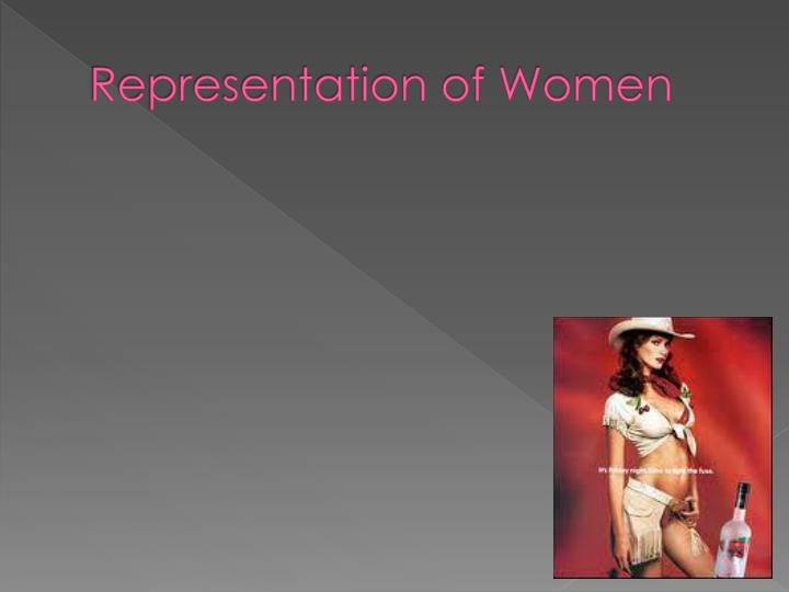 Representation of Women