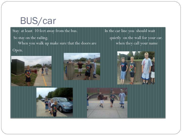 BUS/car