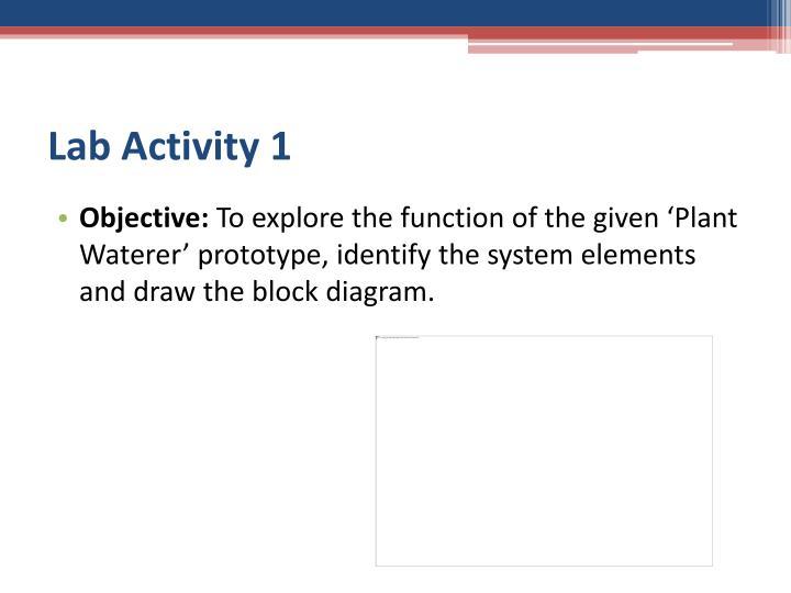 Lab Activity 1