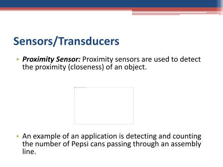 Sensors/Transducers