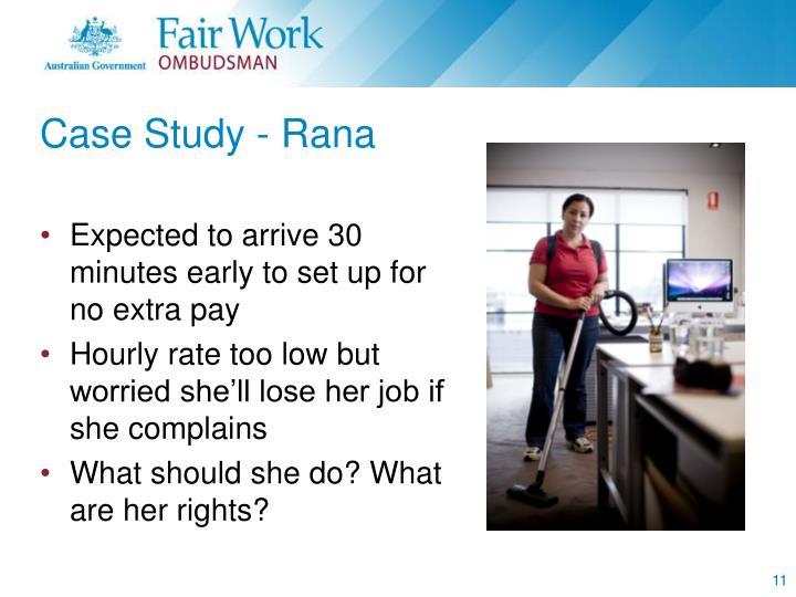 Case Study - Rana