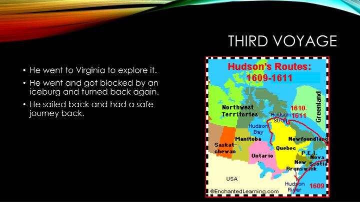 Third voyage