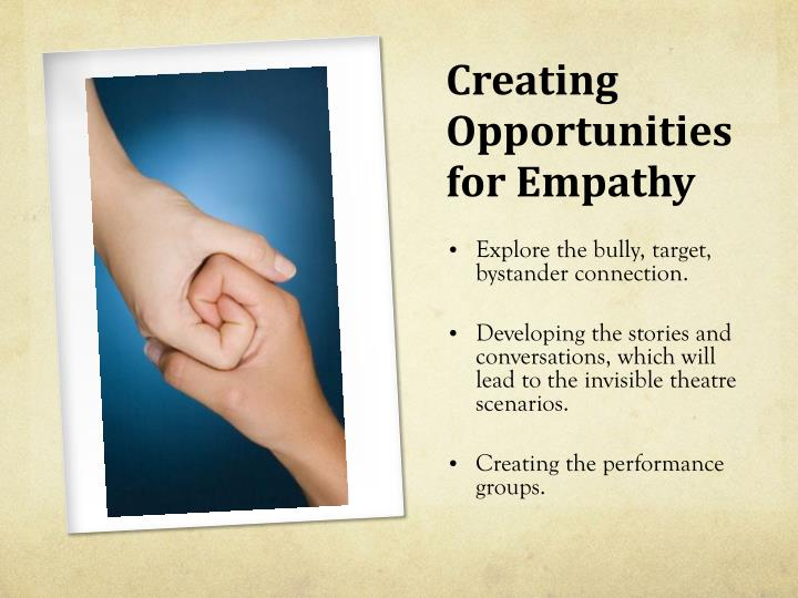 Creating Opportunities for Empathy