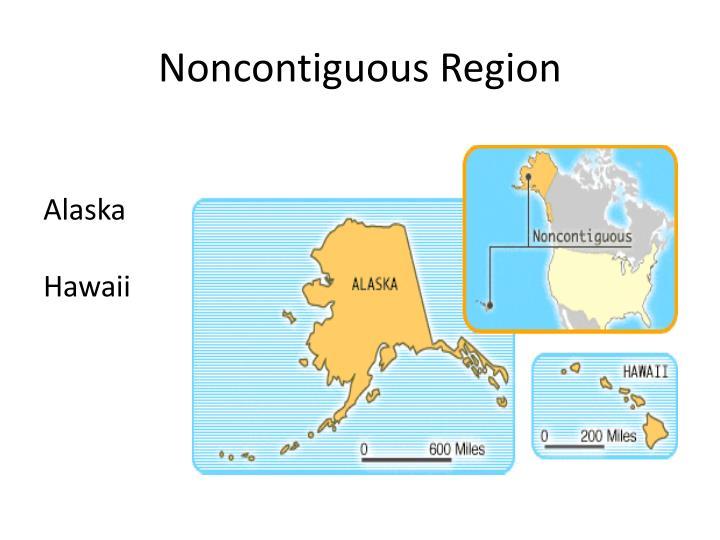 Noncontiguous Region