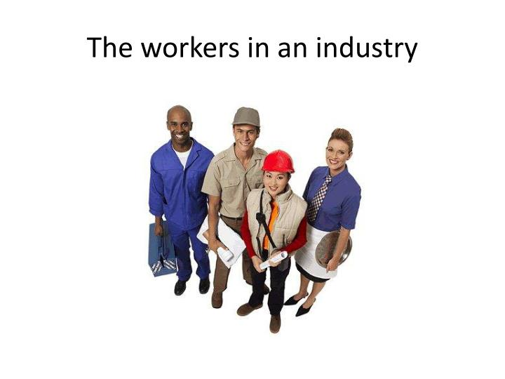The workers in an industry