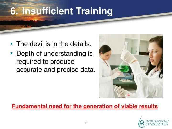 6.Insufficient