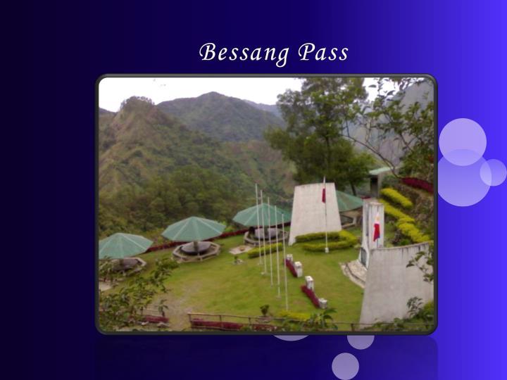 Bessang Pass
