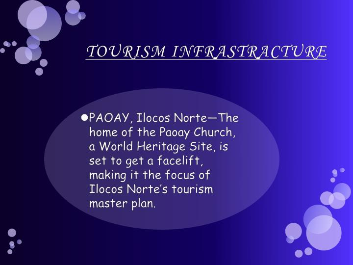 TOURISM INFRASTRACTURE