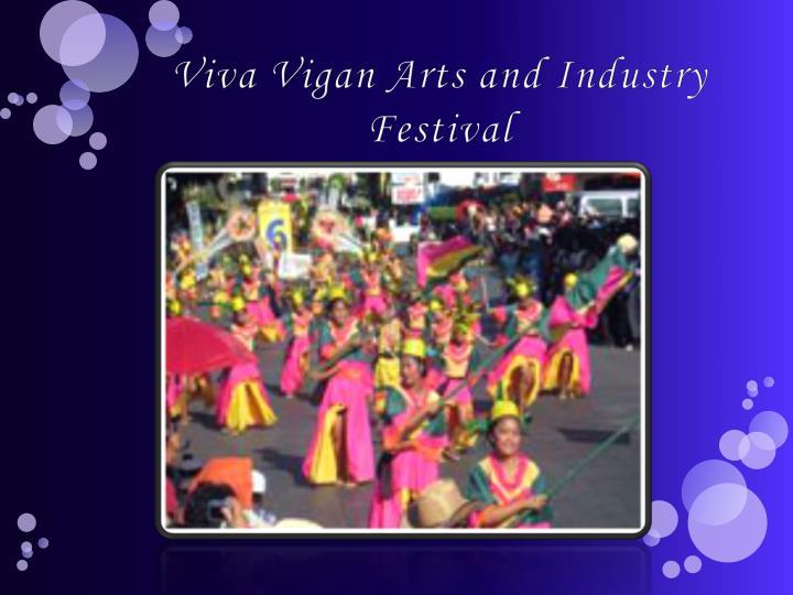 Viva Vigan Arts and Industry Festival
