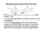 randomized decision forests