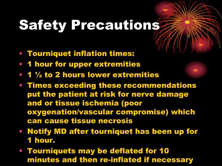 Safety Precautions
