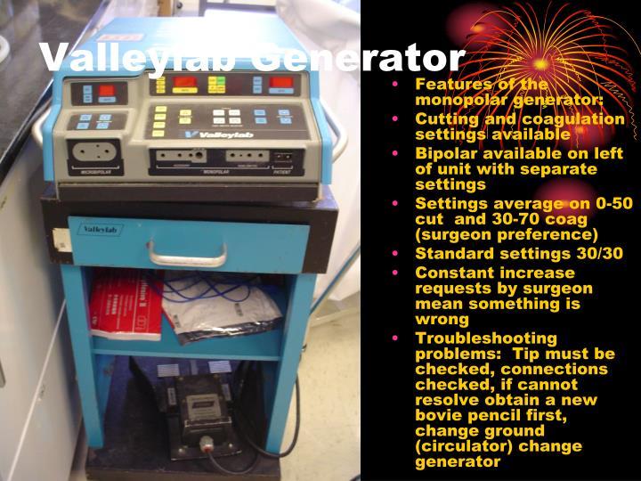 Valleylab Generator
