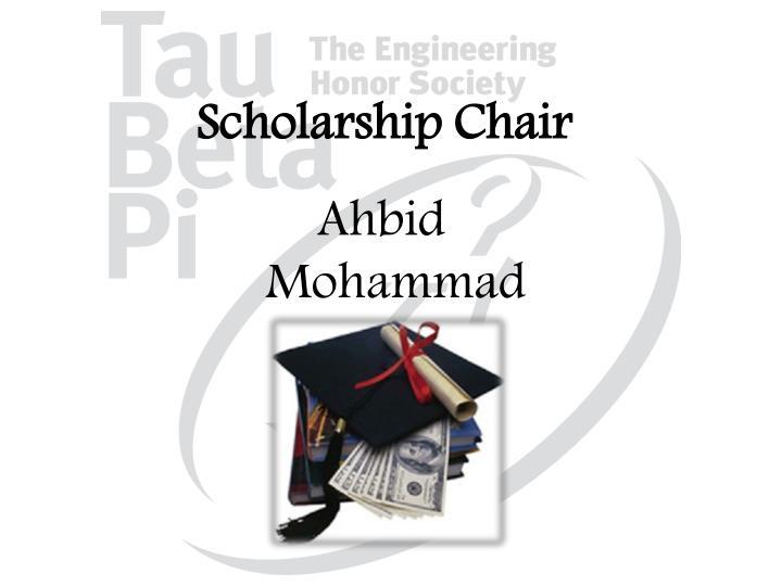 Scholarship Chair