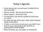 today s agenda8