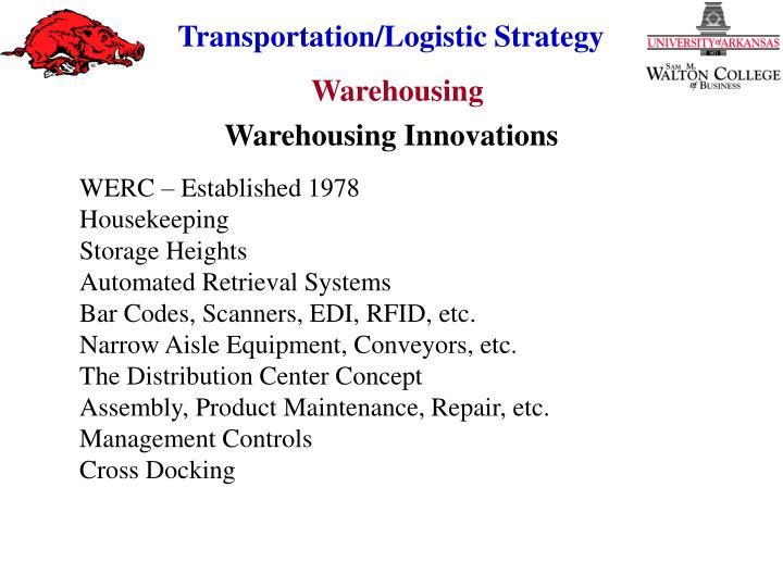 Warehousing Innovations