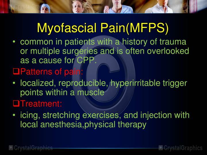 Myofascial Pain(MFPS)