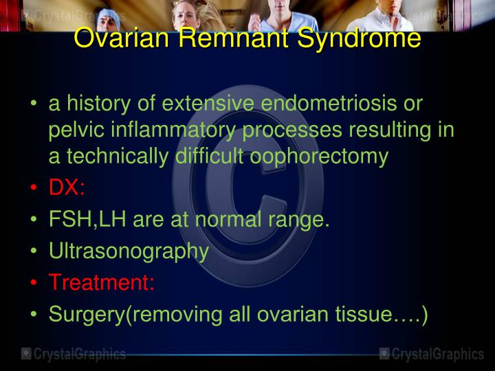 Ovarian Remnant Syndrome