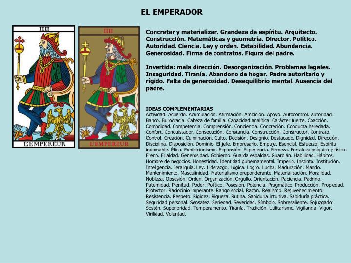 EL EMPERADOR
