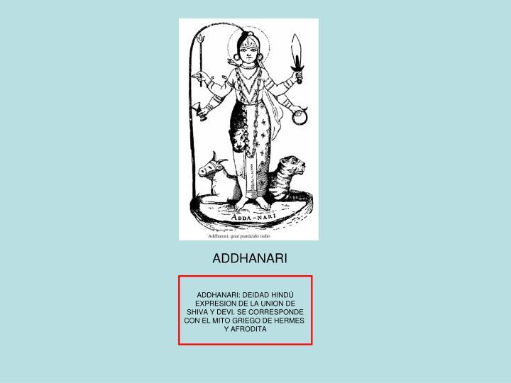 ADDHANARI