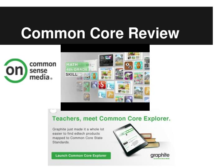 Common Core Review