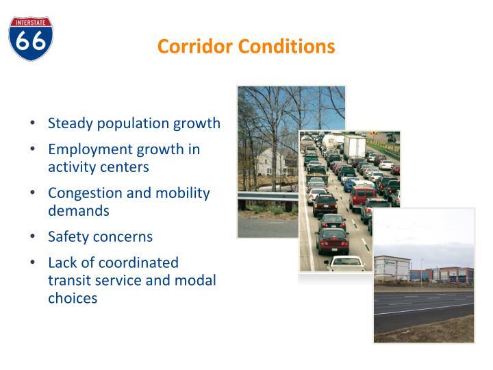 Corridor Conditions
