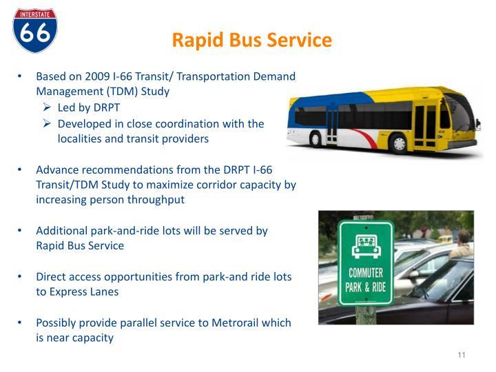 Rapid Bus Service