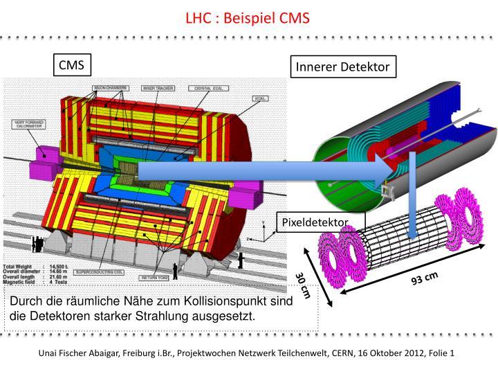 LHC : Beispiel CMS