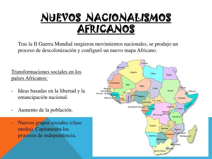 Nuevos  nacionalismos  africanos