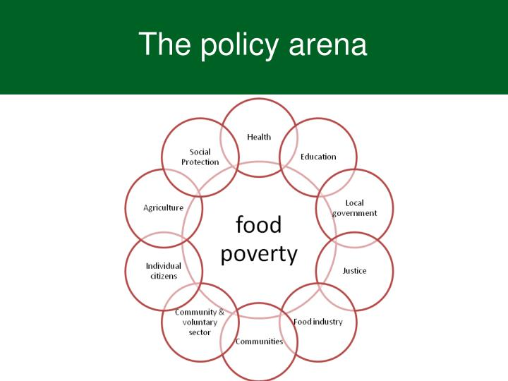 The policy arena