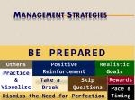 management strategies2