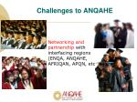 challenges to anqahe1