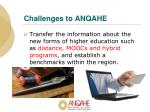 challenges to anqahe2