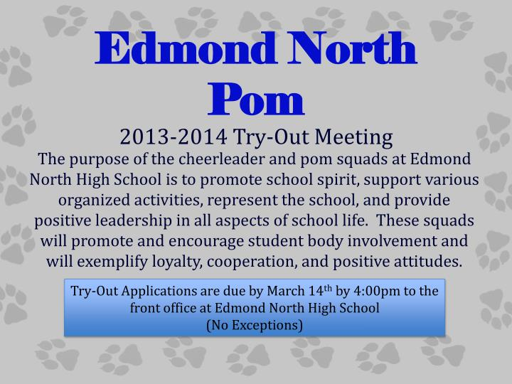 Edmond north pom
