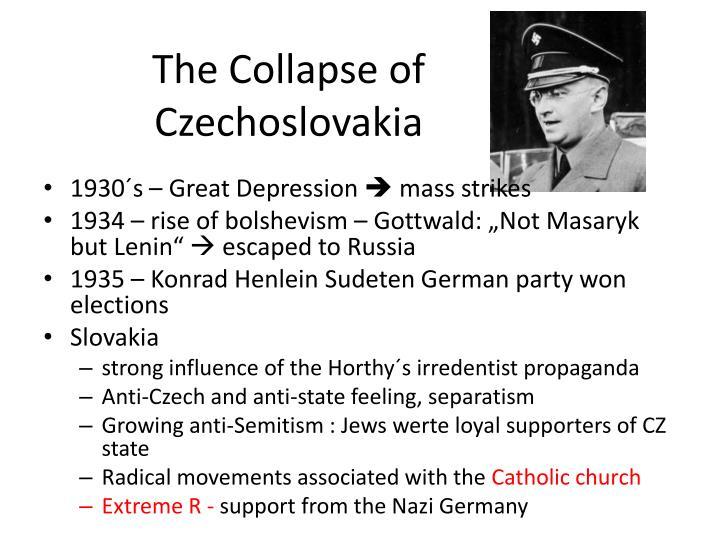 The Collapse of Czechoslovakia